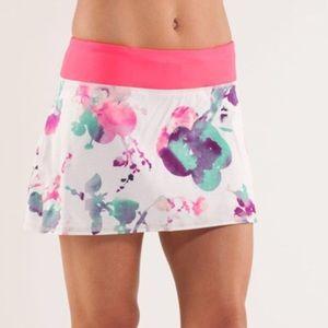 🍋Lululemon RARE Pace Setter Skirt. EUC! Size 10.